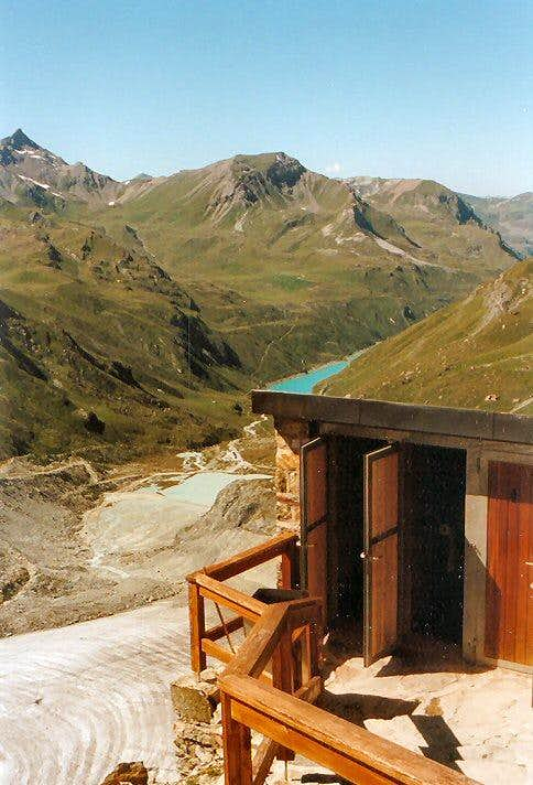The Moiry Hut offers room for three