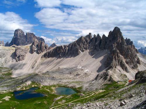 Monte Paterno and Croda dei Toni