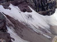 Rock Glacier on Pyramid?