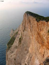 Cliffs above the sea