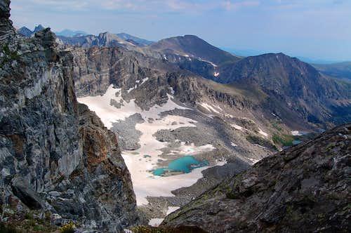Arapahoe Glacier Lake