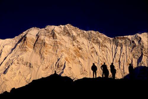 Annapurna I from ABC