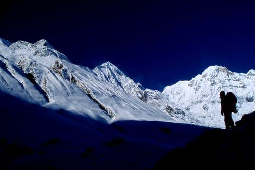 Annapurna South, approaching ABC