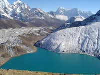 Gokyo from the summit