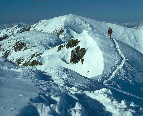 The ridge in excellent winter...