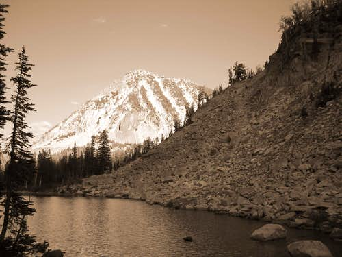 black and white edit craig mountain