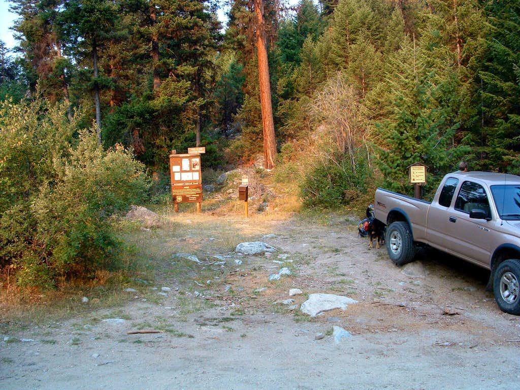 Chaffin Creek Trailhead