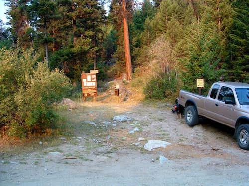 Chaffin Creek Trailhead