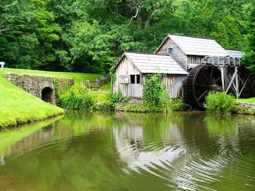 MP 176.2 - Mabry Mill