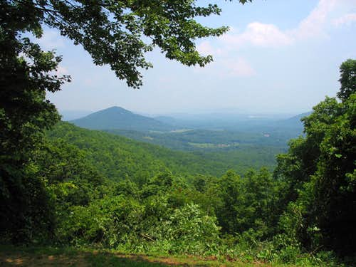 MP 398.3 - Chestnut Cove Overlook
