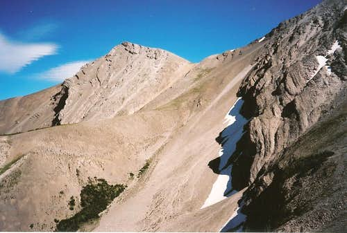 East Ridge and North Slopes