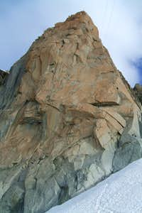 The South Face of the Aiguille du Midi