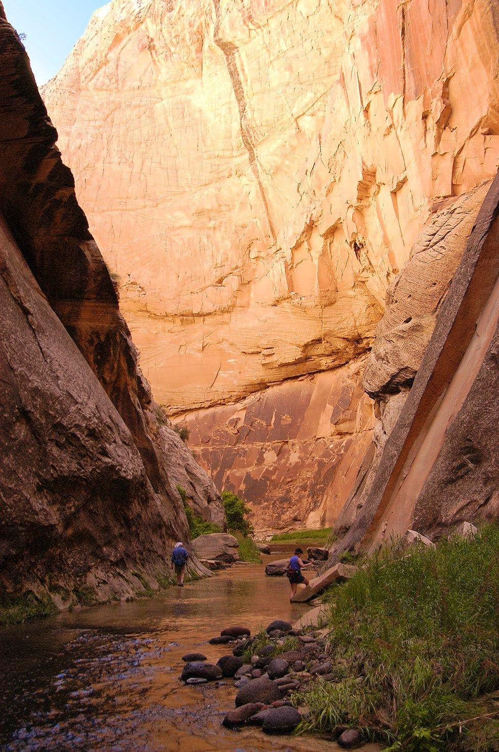The Narrows of Death Hollow