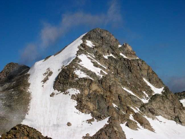Mount Toll from the summit...
