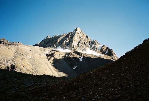 Horse Creek Peak in Horse Creek Canyon