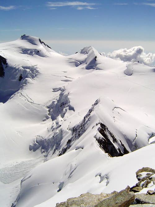 Signalkuppe and Parrotspitze