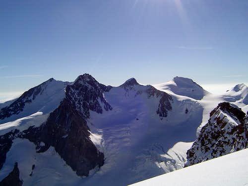 Monte Rosa high peaks