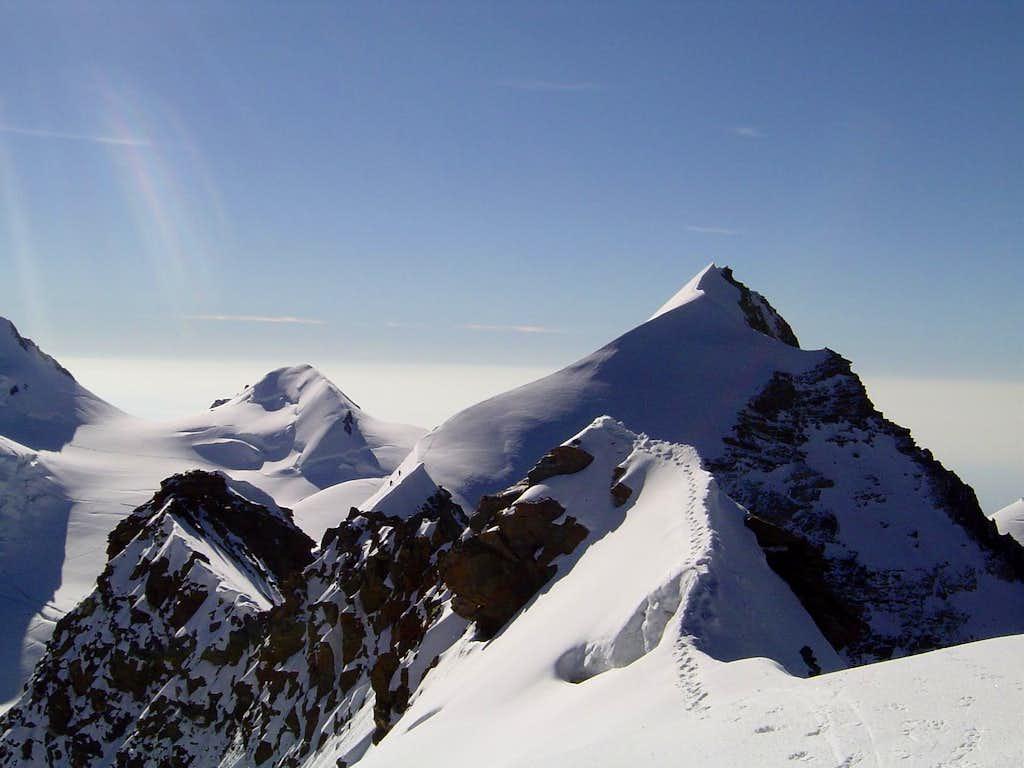 Summit Ridge of Lyskamm