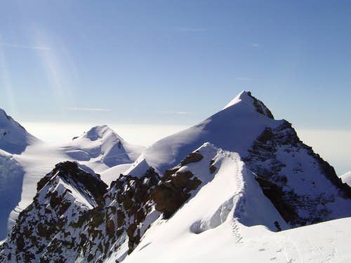 Summit Ridge of Lyskamm