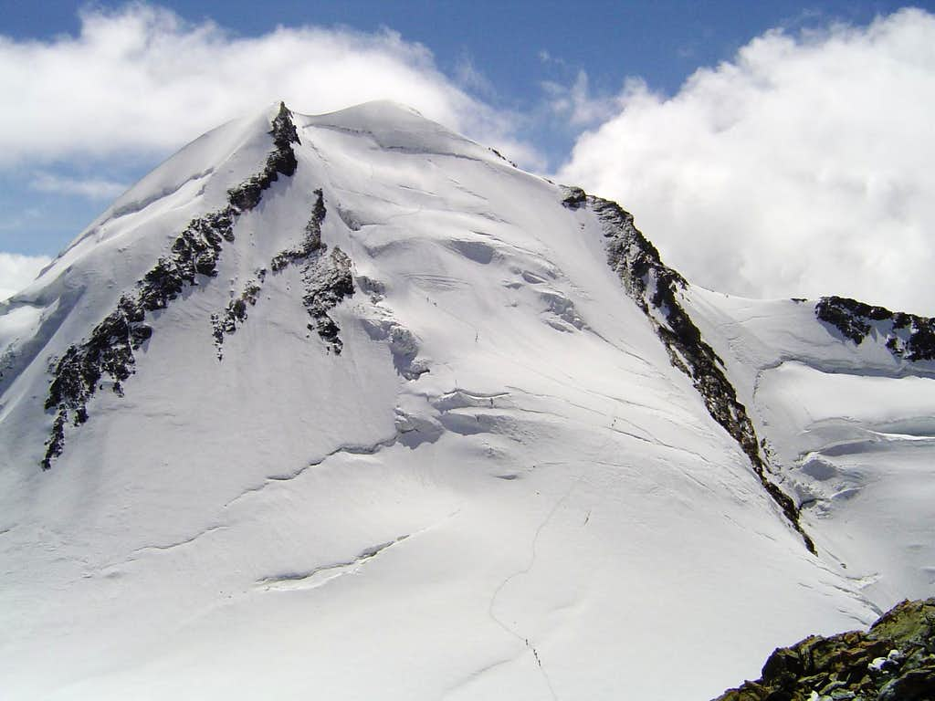 Castor from summit Pollux