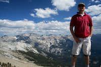 Luciano136 atop Alta Peak