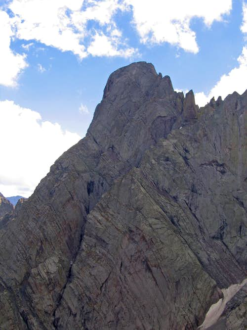 Crestone Needle from the north