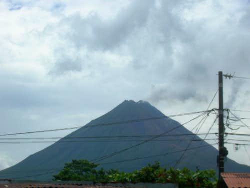 Arenal volcanoe from La Fortuna