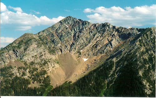 Carmine Peak
