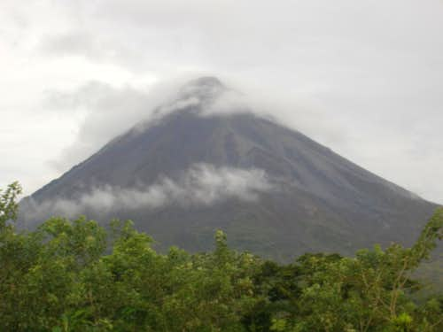 arenal in the day time