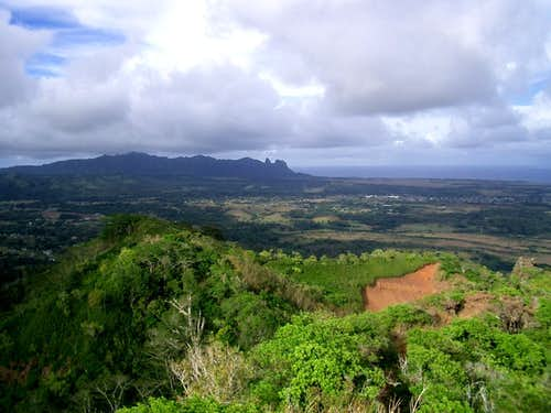 Nonou Mtn - Looking North