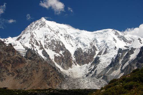 West Face of Chongra Main (6830m)