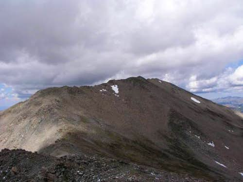 Mt. Massive summit, from South Massive summit