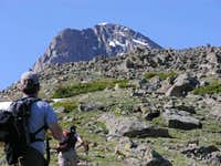 Holy Cross, and the boulder field
