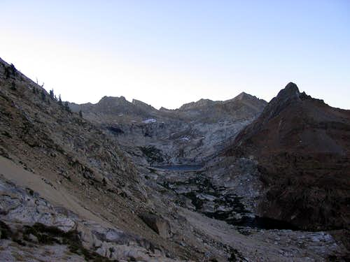 Mineral Peak with Monarch Lakes