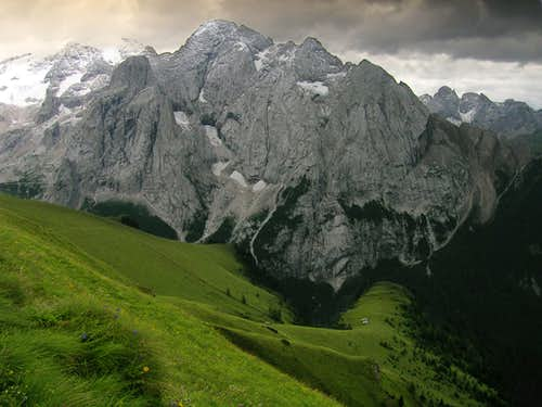 Marmolada and Vernel