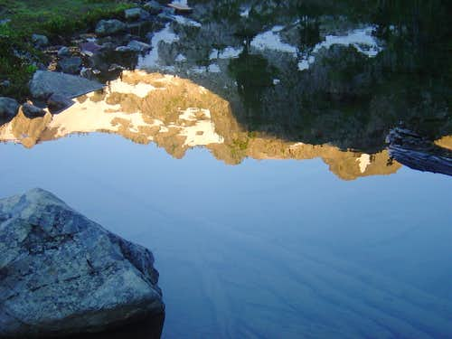Skokomish Ridgeline Reflection