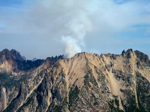 Fire in eastern Washington