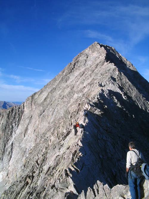 A Walk Across The Sky: Capitol Peak