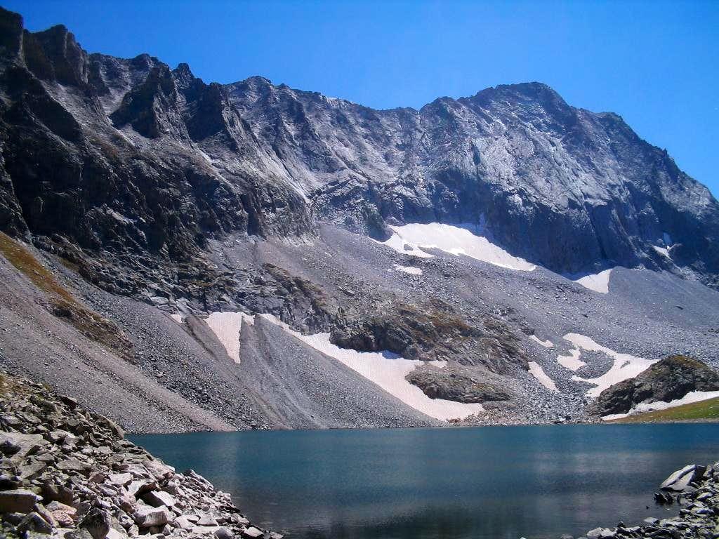Capitol Peak and Lake