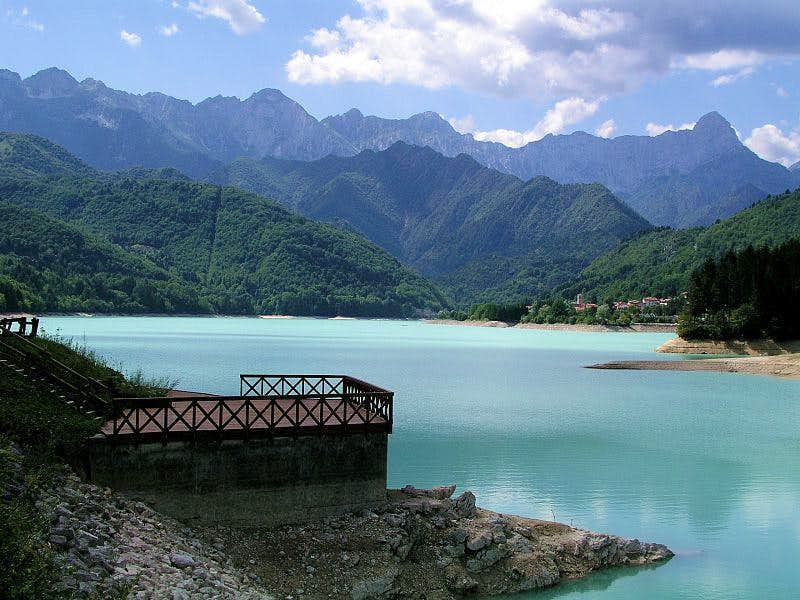 The Lake of Barcis