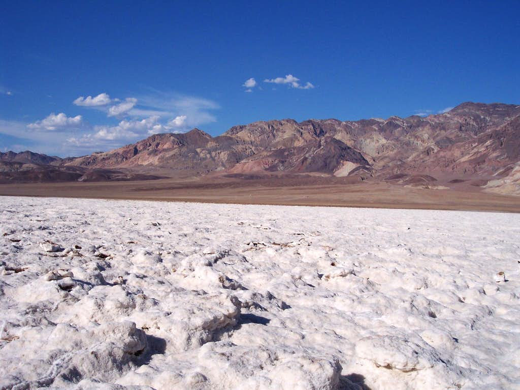 Salt Crystals in Death Valley