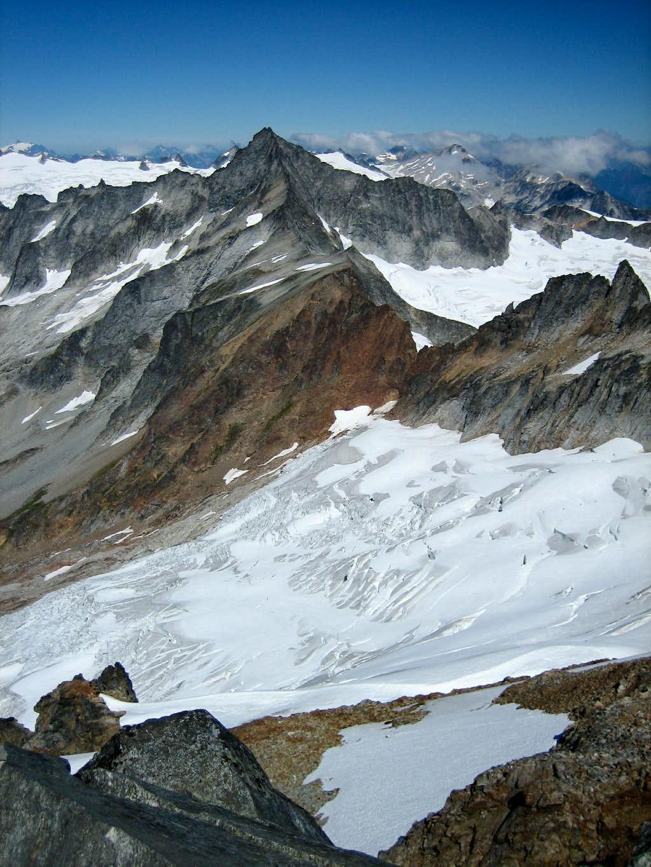 Forbidden Peak and the Quien Sabe Glacier