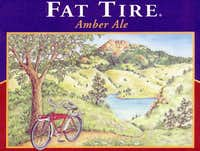 Fat Tire Ale, brewed in Fort...