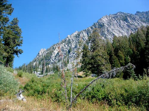 NE Ridge of Freeman Peak
