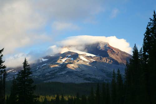 South Sister from Cascade Lakes Hwy