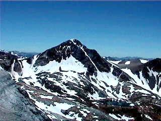 Red Slate Mtn from Mt....