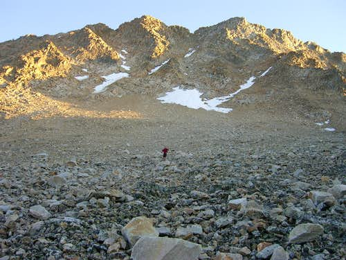 Castle Peak's Big Gully