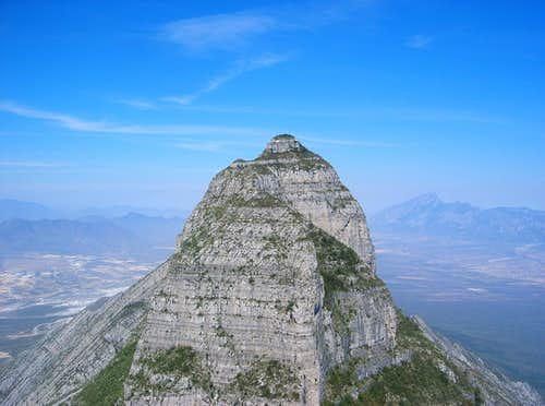 Perico Peak from Piloto peak