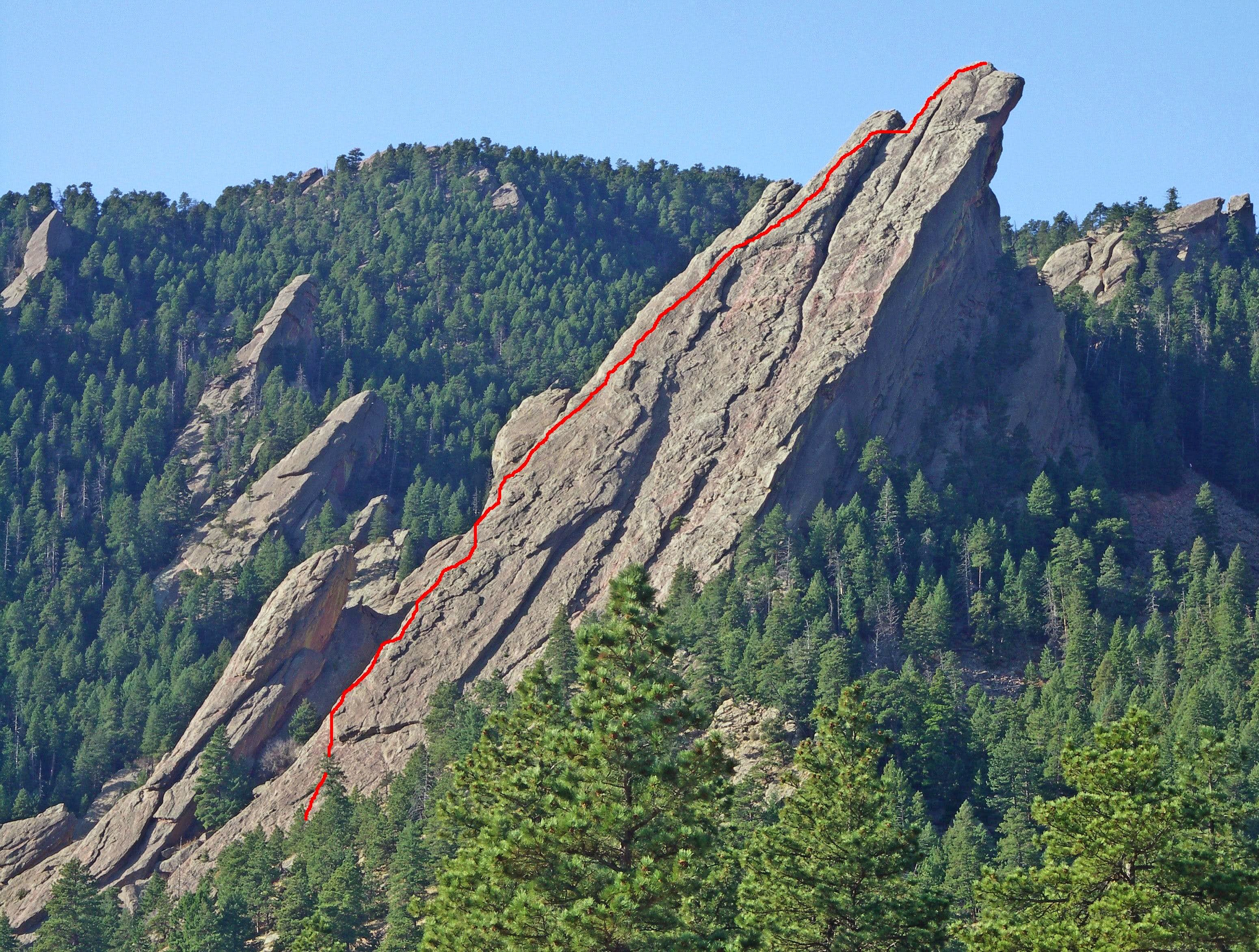 Third Flatiron - East Face South