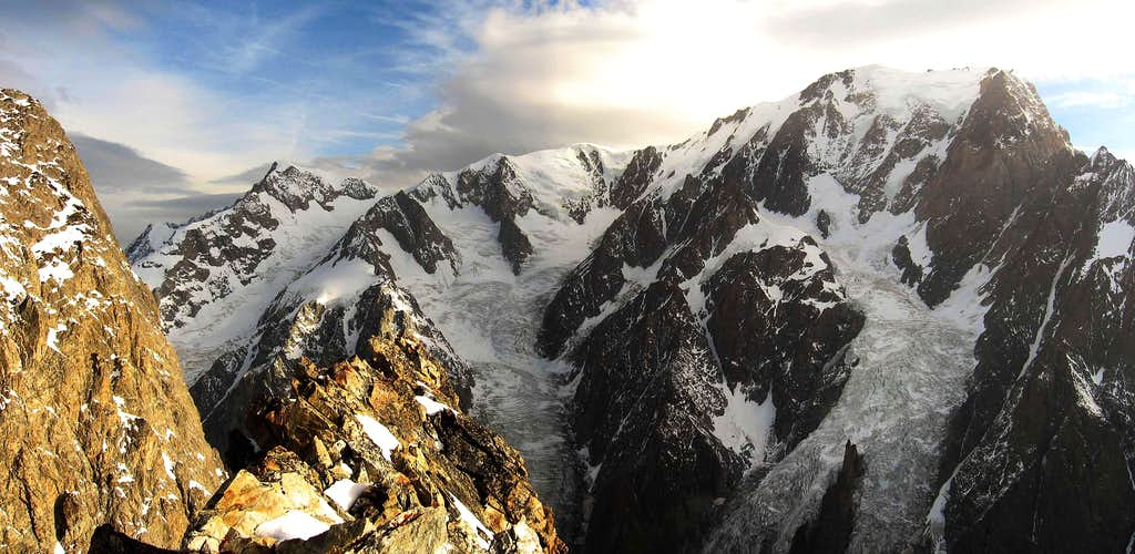 Mont Blanc west side